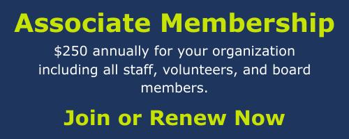 Associate Membership form.
